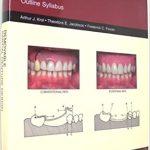 Removable partial denture design: Outline syllabus